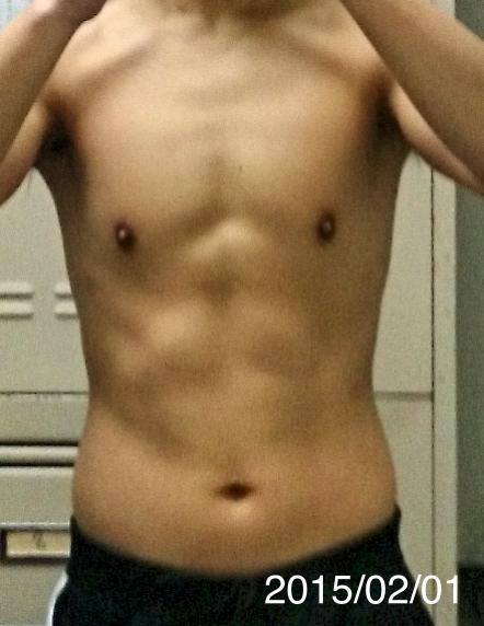 2月1日の体型